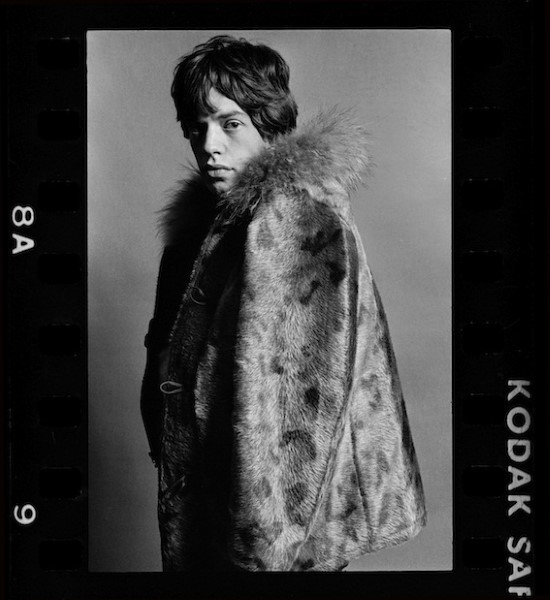 O vocalista dos Rolling Stones Mick Jagger em um contato de Eric Swayne/Reprodução